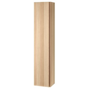 GODMORGON                                Hochschrank, Eicheneff wlas, 40x32x192 cm