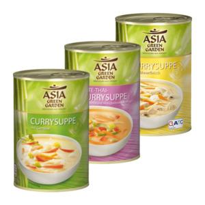 ASIA GREEN GARDEN     Currysuppe