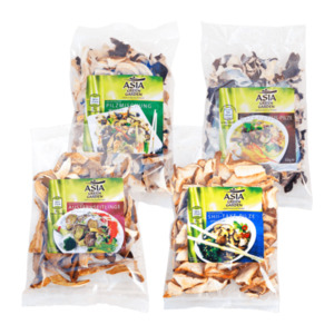 ASIA GREEN GARDEN     Getrocknete Pilze
