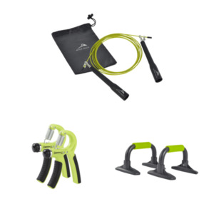 ACTIVE TOUCH     Speed-Springseil / Unterarmtrainer / Push-up-Bars