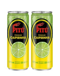 Pitu Premium Caipiriniha/ Asbach Cola
