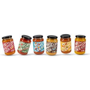 Reishunger mit Sauce 6er Probierset 4x325ml & 2x330ml