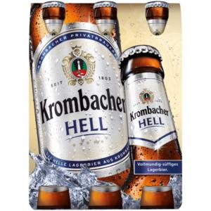 Krombacher Hell 6x0,33l