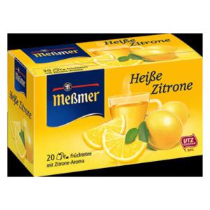 Meßmer Heiße Zitrone 55g, 20 Beutel