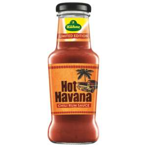 Kühne Limited Edition Hot Havana Chili Rum Sauce 250ml