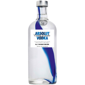 Absolut Vodka Country of Sweden 0,7l
