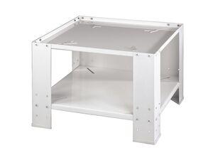 Xavax Unterbausockel, mit Bodenfach, für Waschmaschine und Trockner, aus Metall