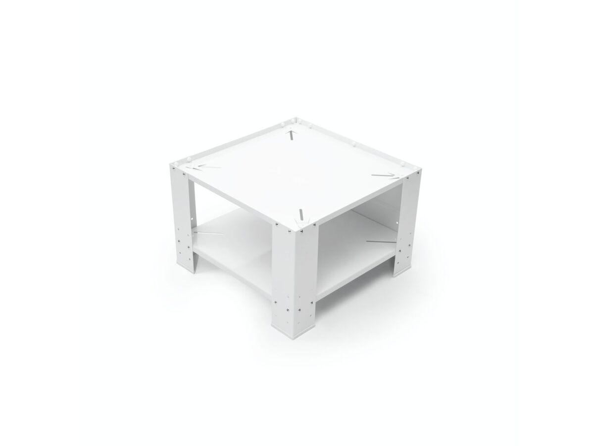 Bild 4 von Xavax Unterbausockel, mit Bodenfach, für Waschmaschine und Trockner, aus Metall