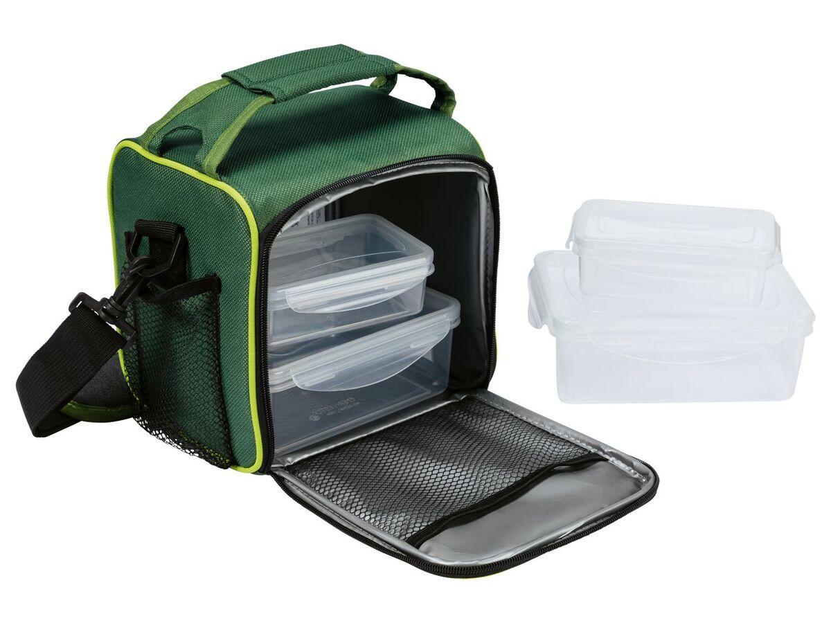 Bild 5 von ERNESTO® Kühltasche, mit Schultergurt, inklusive 4 passenden Lunchboxen,