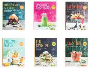 Kochbücher, für gesunde Ernährung und und Wohlbefinden