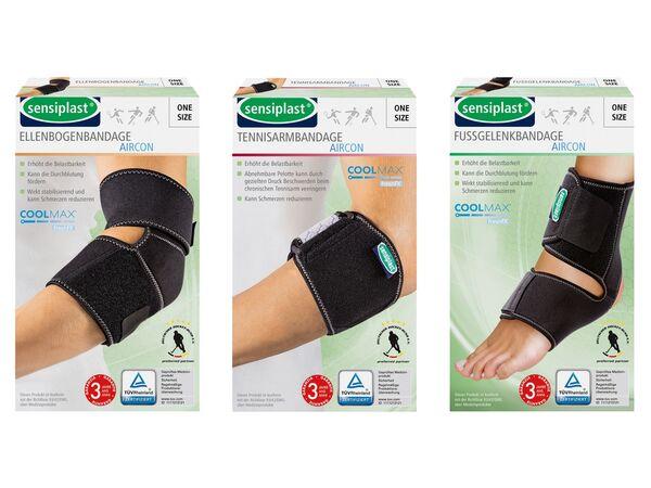 SENSIPLAST® Sportbandage, AIRcon, Ellenbogen, Fußgelenk, Epicondylitis