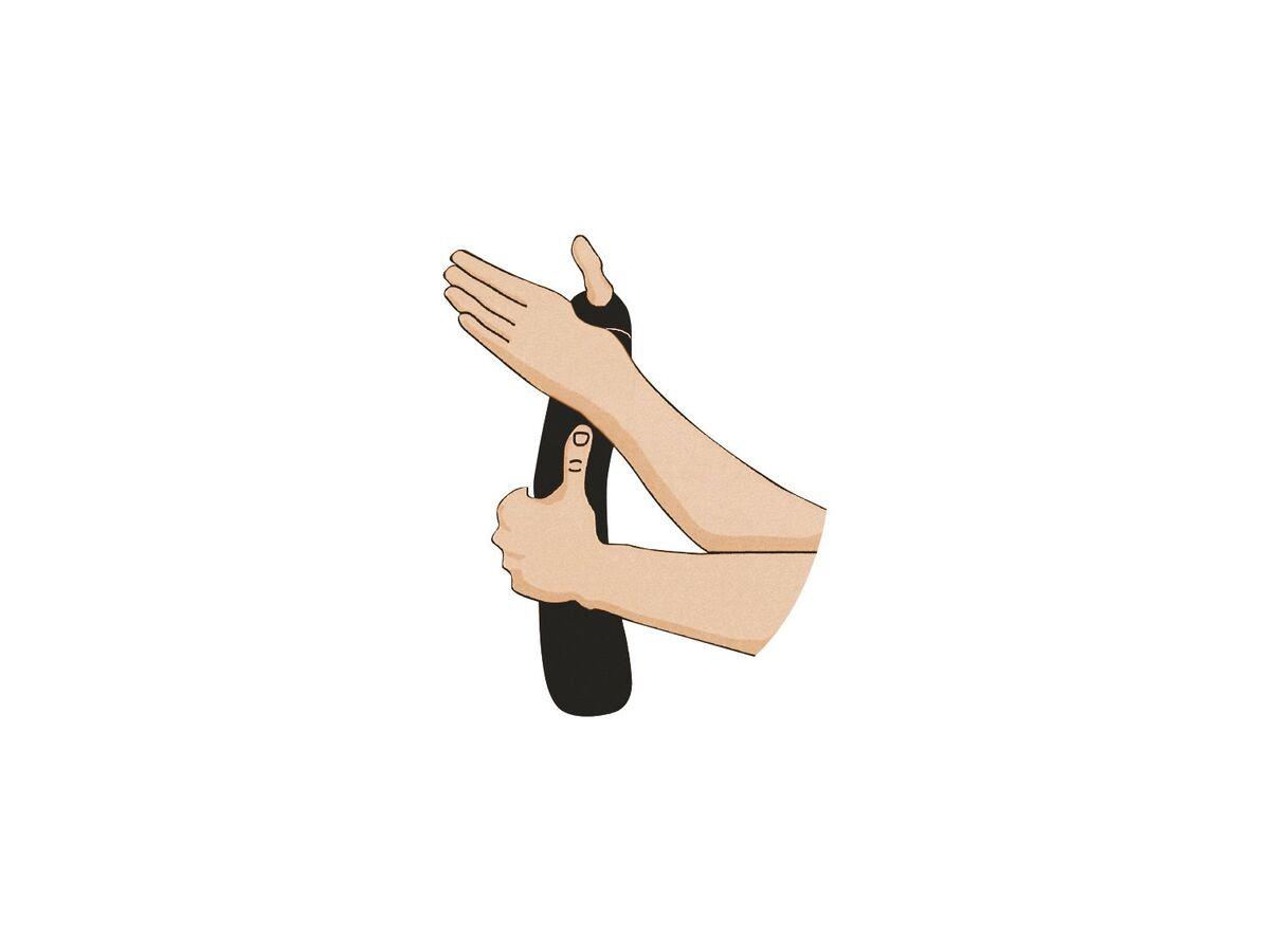 Bild 3 von SENSIPLAST® Sportbandage Handgelenk, verringertes Verletzungsrisiko, Feuchtigkeitsausgleich