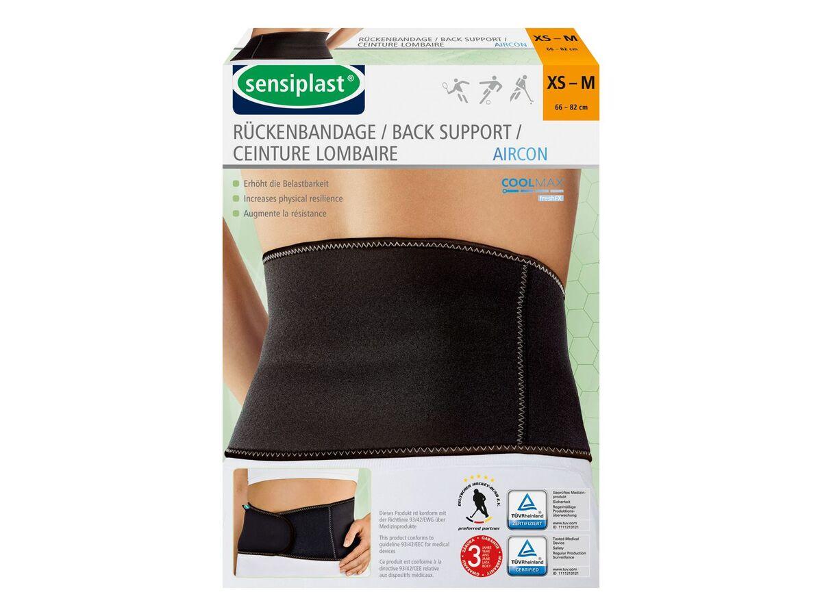 Bild 1 von SENSIPLAST® Sportbandage Rücken, für verringertes Verletzungsrisiko, Feuchtigkeitsausgleich