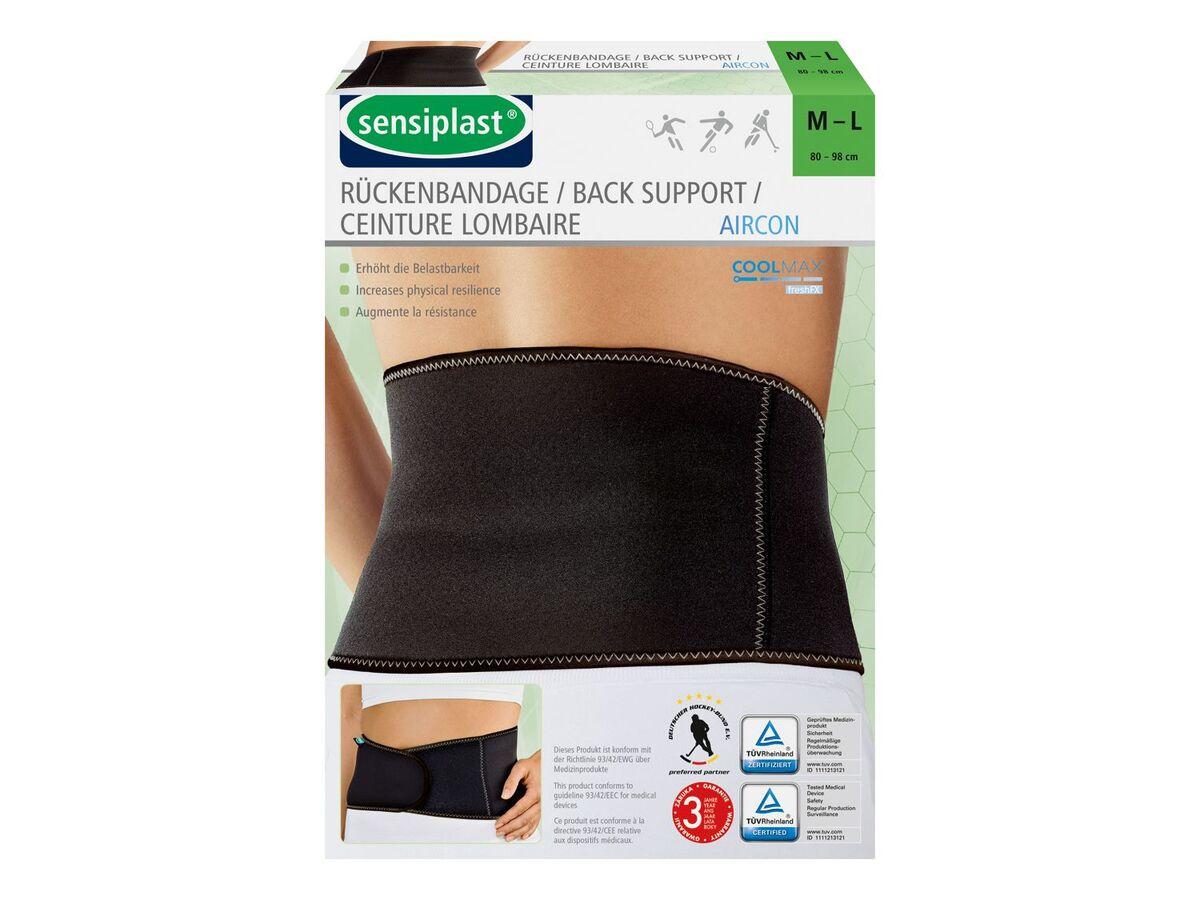 Bild 2 von SENSIPLAST® Sportbandage Rücken, für verringertes Verletzungsrisiko, Feuchtigkeitsausgleich