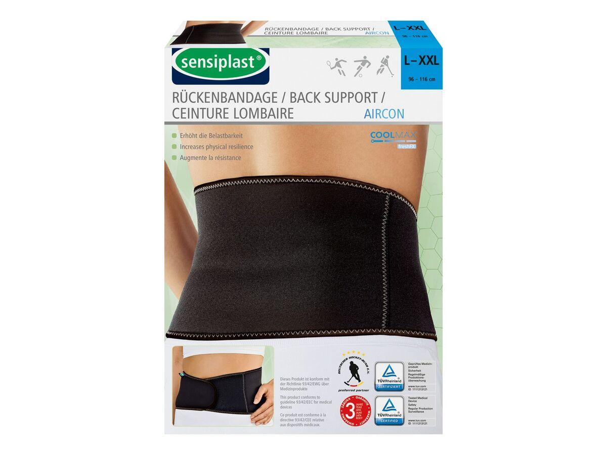 Bild 3 von SENSIPLAST® Sportbandage Rücken, für verringertes Verletzungsrisiko, Feuchtigkeitsausgleich