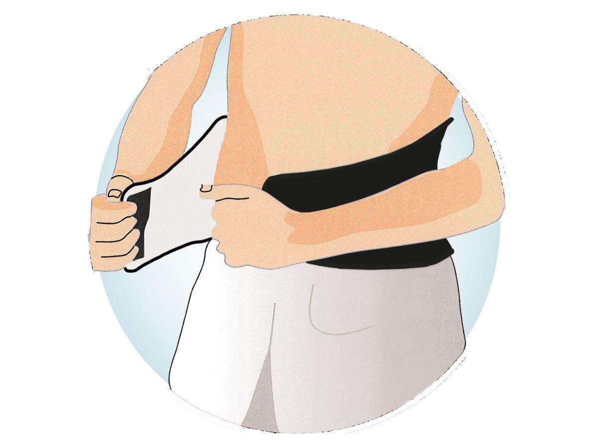 Bild 4 von SENSIPLAST® Sportbandage Rücken, für verringertes Verletzungsrisiko, Feuchtigkeitsausgleich