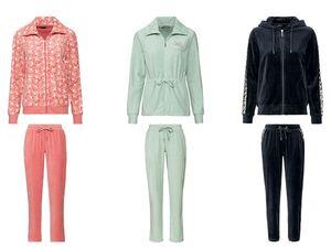 ESMARA® Nickianzug Damen, 2-teilig, mit Eingrifftaschen, Hose mit Bindeband, mit Baumwolle