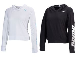 Puma Damen Hoodie MODERN SPORT Cover up