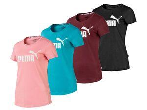 Puma T-Shirt Damen, mit Rundhalsausschnitt, abgerundeter Saum, aus Baumwolle