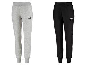 Puma Jogginghose Damen, 2 Taschen, mit Kordelzug, elastischer Bund, mit Baumwolle