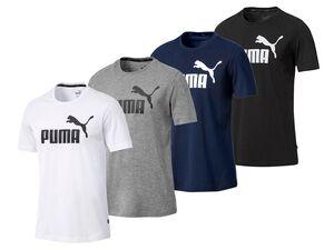 Puma T-Shirt Herren, mit Rundhalsausschnitt, Standard Fit, aus Baumwolljersey