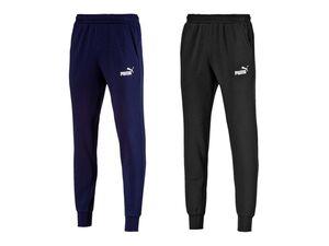 Puma Jogginghose Herren, 2 Taschen, mit Kordelzug, elastischer Bund, mit Baumwolle
