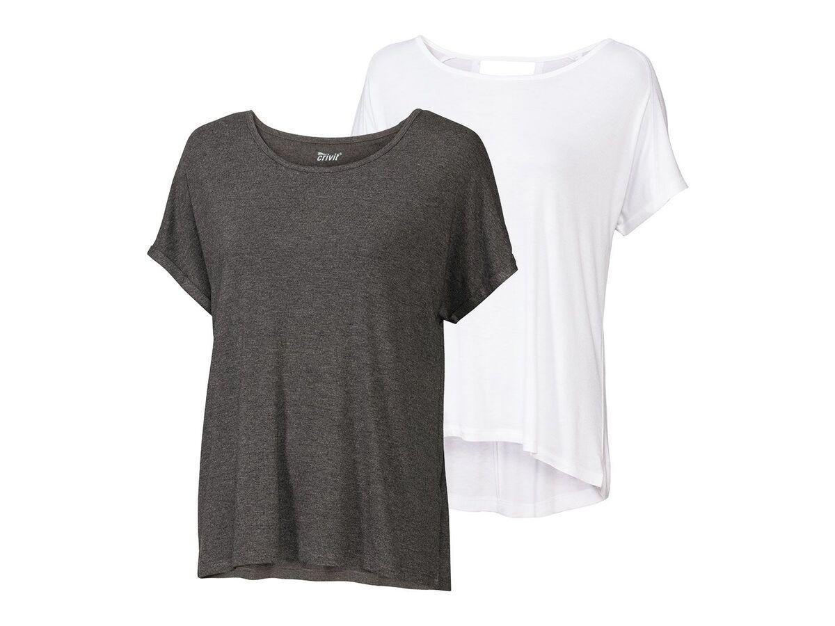 Bild 2 von CRIVIT® 2 Damen Funktionsshirts