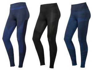 CRIVIT® Funktionshose Damen, Sport, Leggings, mit Stützzonen, Seamless, Medium-Level