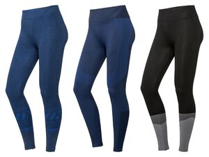 CRIVIT® Funktionshose Damen, Sport, Leggings, mit Stützzonen, Seamless, High-Level