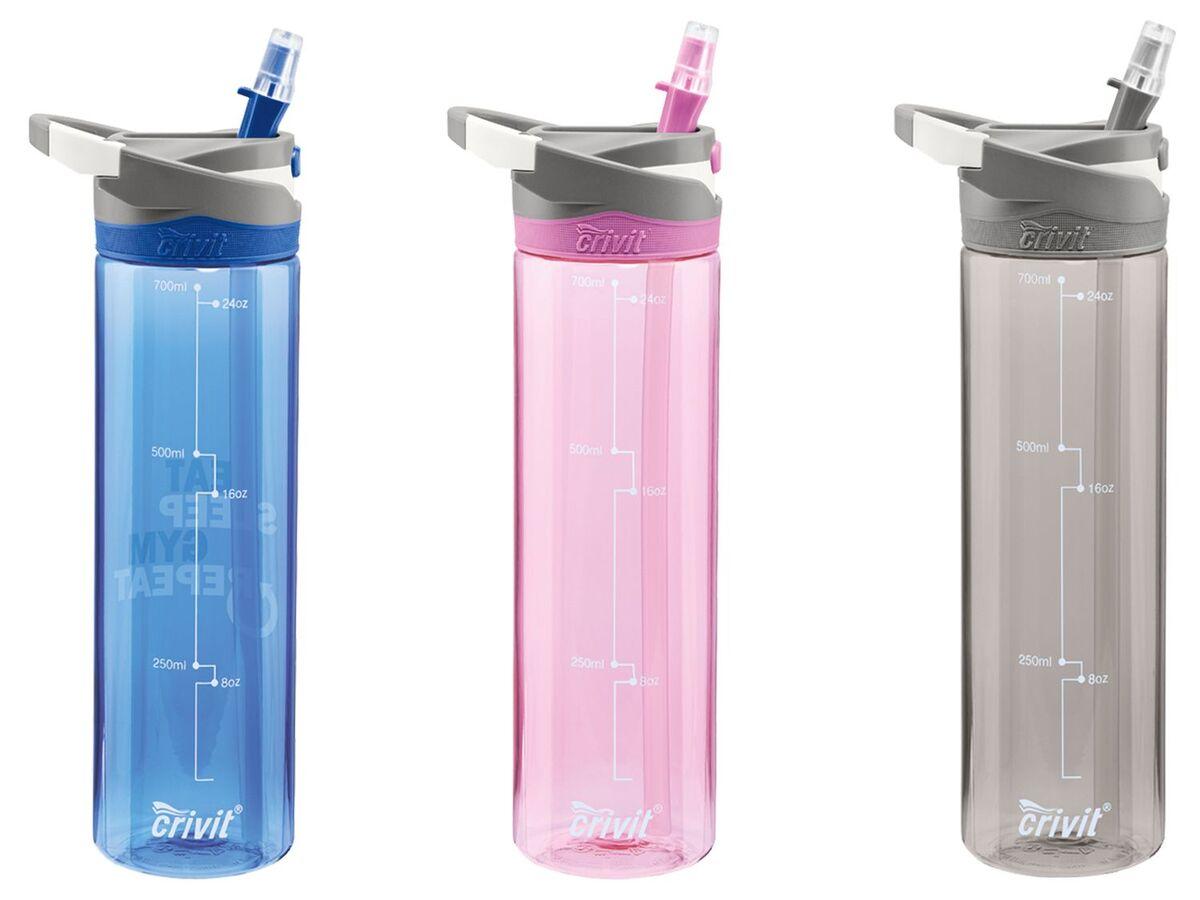 Bild 1 von CRIVIT® Trinkflasche, 0,7 l Fassungsvermögen, ausklappbares Mundstück, BPA frei