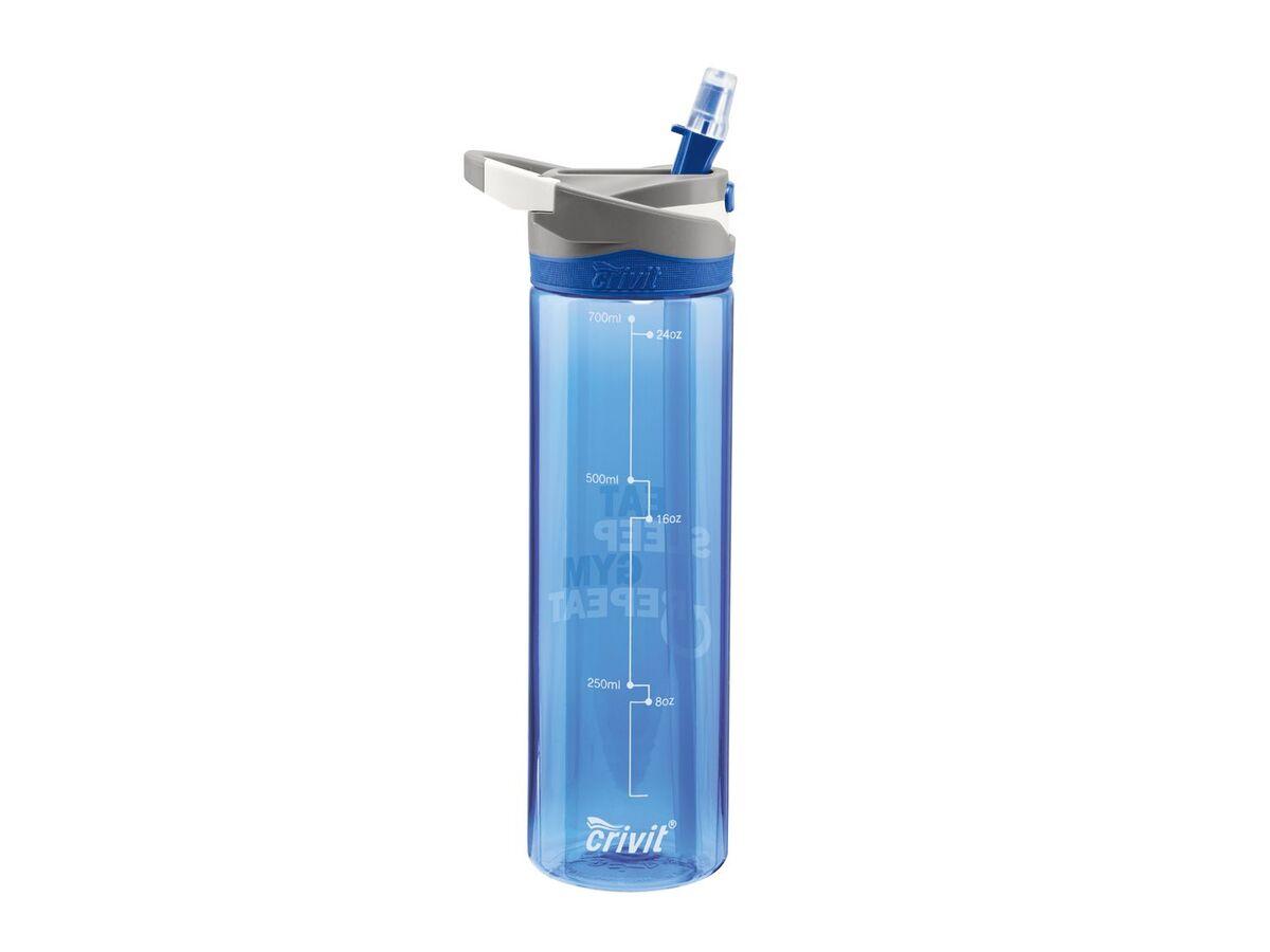 Bild 2 von CRIVIT® Trinkflasche, 0,7 l Fassungsvermögen, ausklappbares Mundstück, BPA frei