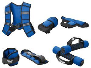 CRIVIT® Gewichtsweste/Fitnessgewichte-Set