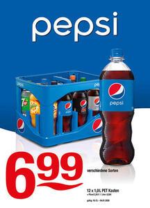 Pepsi verschiedene Sorten