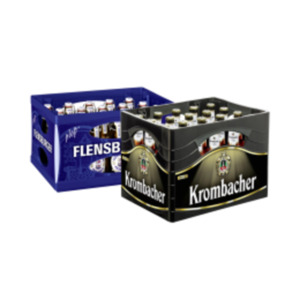 Krombacher oder Flensburger