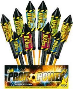 Nico Profi-Power Raketen-Sortiment