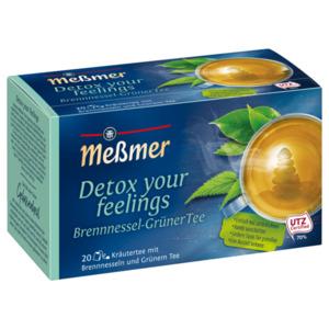 Meßmer Wohlfühltee Detox your feelings