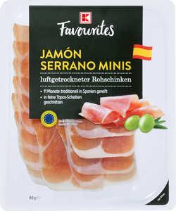 K-FAVOURITES  Jamón Serrano Minis