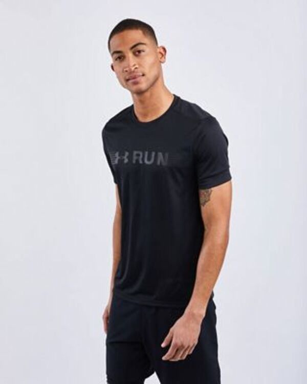 Under Armour RUN WARPED SHORTSLEEVE TEE - Herren
