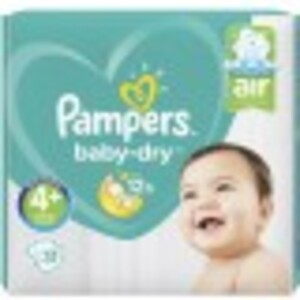 Pampers Baby-Dry Windeln Gr. 4+ 10-15 kg 31 Stück