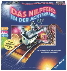 Das Nilpferd in der Achterbahn - Ravensburger