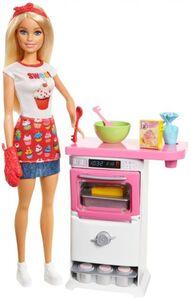 Barbie Bäckerin - Puppe und Spielset
