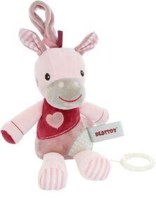 Besttoy - Spieluhr - Pferd - rosa