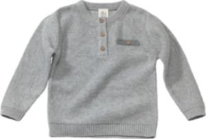 ALANA Kinder Pullover, Gr. 92, in Bio-Baumwolle, grau