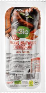 dmBio vegane Chorizo-Bratwurst