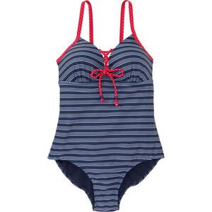Damen Badeanzug im gestreiften Dessin