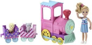 Barbie - Chelsea Abenteuerzug mit Puppe