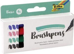 Brushpens - Basic - 4er Set