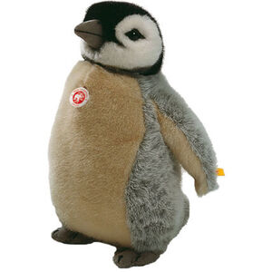 Steiff Studio Baby-Pinguin, grau/braun