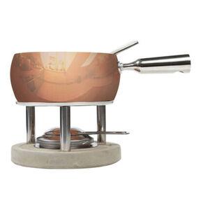 Boska Fondue-Set Kupfer, Braun