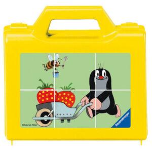 Ravensburger Puzzle - Der Kleine Maulwurf im Garten, 6 Teile
